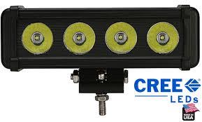 american made led light bar led light bar with bracket 4 x 10 watt cree led made in usa 3400
