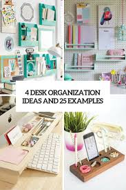Desk Organization Diy Diy Desk Organizers Archives Shelterness