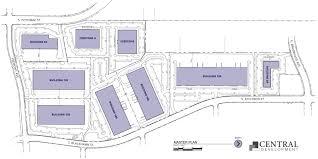 floor plan building site plan encompass business park