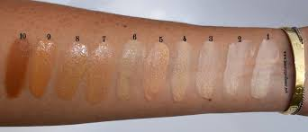 charlotte tilbury light wonder foundation swatches charlotte tilbury light wonder youth boosting perfect skin