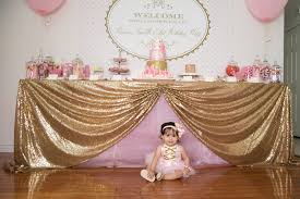 pink and gold party supplies gorgeous pink gold 1st birthday party susy martinez