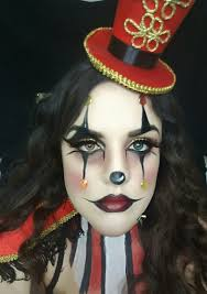 ringmaster halloween makeup tutorial how to clown creepy