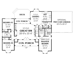 ranch home layouts affordable ranch 4676 3 bedrooms and 2 5 baths the house designers