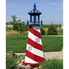 amish lighthouses pinecraft decorative lighthouses garden