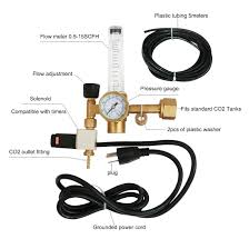 amazon com vivosun hydroponics co2 regulator emitter system with