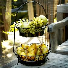 tiered fruit basket two tier fruit basket with image cal50 storify