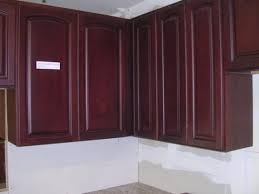Kitchen Cabinet Catalogue Beech Dark Cherry Color Arched Door Kitchen Cabinets Catalog
