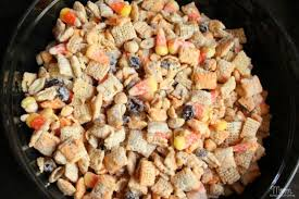 corn sweet salty chex mix