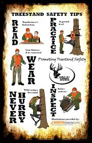 treestand safety tips tmastands