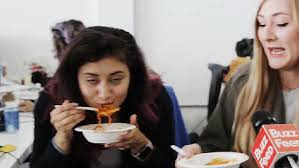 Challenge Buzzfeed Can These Buzzfeed Employees Handle The Noodle Challenge