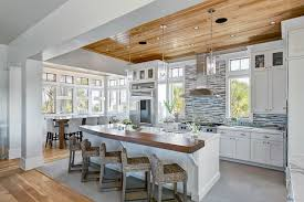 kitchen with wood ceiling rdcny
