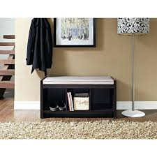 Bench With Shoe Storage Plans - black entryway bench with storage baskets entryway bench with shoe