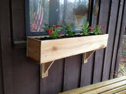 Window Planters Indoor by Diy Window Flower Box And Supports For Under 5 And Under 2 Hours