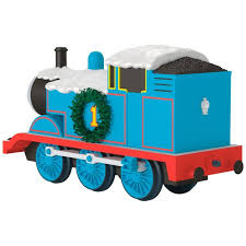 christmastime with the tank engine ornament keepsake