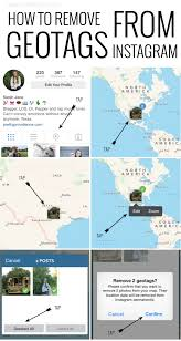 Instagram Map How To Remove Geotags On Instagram