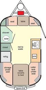 Small Rv Floor Plans Image Result For Cargo Trailer Conversion Floor Plans U2026 Pinteres U2026