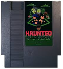 Haunted Halloween by Halloween U002786 The Curse Of Possum Hollow Nes Game Classic Gray