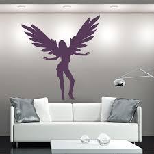 dancing angel wall sticker angel wall art