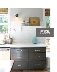 Benjamin Moore Cabinet Paint White by Benjamin Moore Kendall Charcoal Cabinet Light Gray Walls Granite