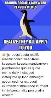 Socially Awkward Penguin Memes - 25 best memes about socially awkward penguin memes socially