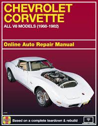 chevrolet corvette 68 82 haynes online manual haynes manuals