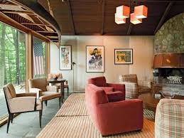 living room upholstered chairs rustic zen living room ideas with hanging wooden ship and wall