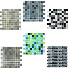 Tile Stickers by Mosaic Tile Stickers Self Adhesive 10x10in Bathroom