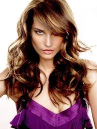 pictures curly hairstyles with bangs and layers