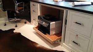 home office desk with file drawer home office desk with roll out printer locking file drawers leather