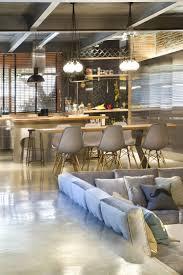 cuisine bois design cuisine industrielle contemporaine en 50 photos formidables