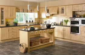 shaker ribbed kitchen doors in sandy birch by homestyle