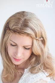 headband across forehead twist pin rope braided headband hairstyle tutorial hair