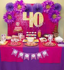 birthday decoration ideas cheap 40th birthday decorations ideas auntie bday