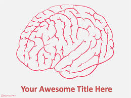 templates for powerpoint brain human brain powerpoint template medical template pinterest
