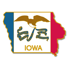 Flag Lapel Pins Bulk Pinmart U0027s State Shape Of Iowa And Iowa Flag Lapel Pin Ebay