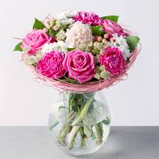 flowers uk pink lemonade flowers by post bunches co uk