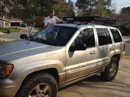 jeep wj roof lights wj roof rack jeep cherokee forum