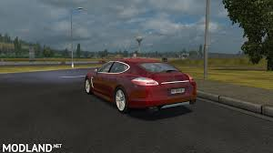 porsche indonesia porsche panamera turbo 2010 mod for ets 2