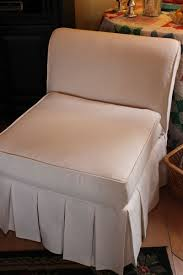 slipcovers for armless chairs opulent cottage our slipper chair slipcovers armless cover
