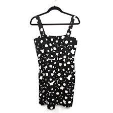 abstract pattern sleeveless dress theory black sleeveless cotton abstract pattern short casual dress