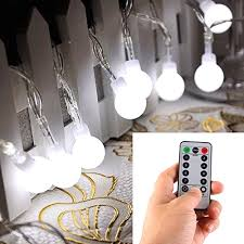 outdoor led lights battery operated with remote timer 16 50