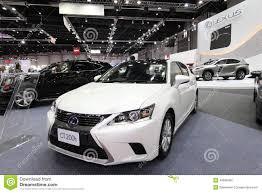lexus made in thailand bangkok august 19 lexus ct200h car on display at big motor sa