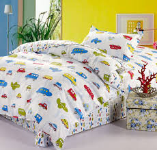 Twin Duvet Covers Boys Transportation City Cars U0026 Airplanes Boys Bedding Twin Duvet Cover