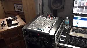 my home recording studio setup youtube