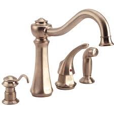 overstock kitchen faucets moen cathedral single handle kitchen faucet 11477538 overstock 4