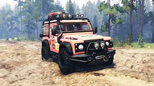 racing land rover land rover defender 90 for spin tires