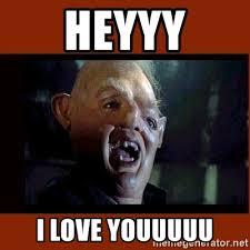 Heyyy Meme - heyyy i love youuuuu sloth goonies meme generator