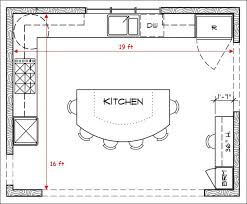 l shaped kitchen with island floor plans l shaped kitchen floor plans with dimensions trendyexaminer