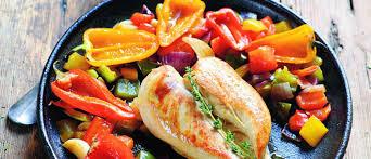 recettes laurent mariotte cuisine tv poulet aux poivrons une recette ensoleillée signée laurent mariotte