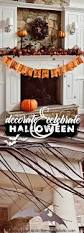 Remodelaholic Decorate U0026 Celebrate Simple Halloween Decor